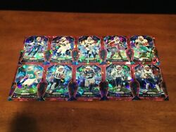 2019 PRIZM YOU PICK RED CRACKED ICE SP PARALLELS VETERANS & ROOKIES