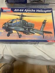 Vintage Monogram AH 64 Apache Helicopter $12.99