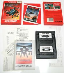 GUNSHIP Helicopter Simulator A Spectrum cassette game by MICROPROSE. Boxed OVP $15.00