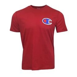 Champion Large Reverse Weave Men#x27;s Garnet Short Sleeve T Shirt $9.09