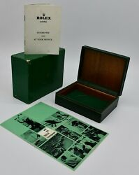 Genuine Rolex vintage Cosmograph 6239 box set 1963 with blank Guarantee booklet