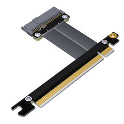 ADT Link U2 to PCI E 3.0 x16 SFF 8639 NVMe Pcie Extension Data Cable R37SF R37SL $20.54