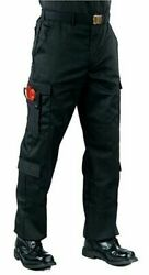 ROTHCO MENS EMT PANTS 3 XL STYLE 7818 BLACK Combat tested since 1953 $49.99