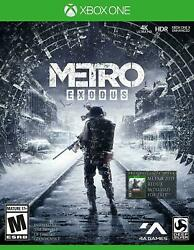Metro Exodus Microsoft Xbox One Brand New Sealed $17.98