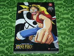 One Piece: Collection 1 (DVD 2011 4-Disc Set)