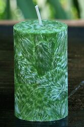 200hr COUNTRY CHRISTMAS Scent Green CANDLE Cranberry Nutmeg Clove Orange Berry AU $25.00