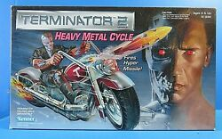 TERMINATOR 2 Heavy Metal Motorcycle ~ 1991 KENNER #56460 ~ NEW NIB