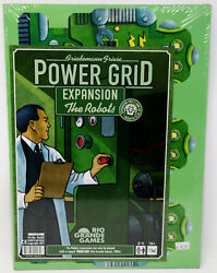2011 Rio Grande Games Power Grid Expansion: The Robots *Factory Sealed* $14.99