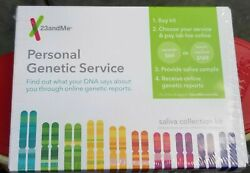 New Sealed 23andMe Personal Genetic Service Saliva Collection Kit