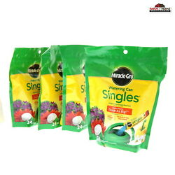 4 Miracle Grow Single Packet Food 24ct New $48.95