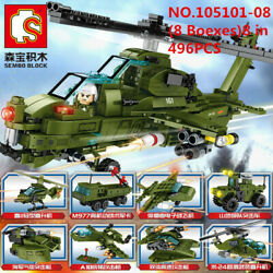 8 Boxes 496pcs 8in1 Helicopter Kids Building Toys Boy Blocks Puzzle ENLIGHTEN $17.59
