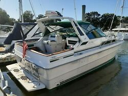1987 Sea Ray 340 with Twin Mercruiser inboards-In water and ready-Nice Condition