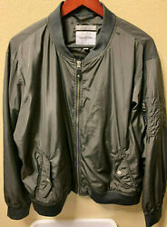 Goodfellow and Co Men's Water Resistant Jacket Size XL Charcoal Gray Light