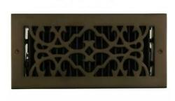 Signature Hardware Traditional Brass Floor Register 4quot;x12quot; $22.36