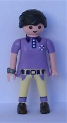 Playmobil City Life 1 x Women wearing Lilac Top amp; Watch Mint Condition $2.29