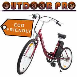 24#x27; Yukon Trail Electric Bicycle Power Bike 24V 250W Lithium Assembly in USA $508.99