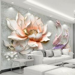 Large 3d Wallpaper Murals For Bedroom Wall Textured Background Wallpapers Modern $20.58