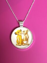 The Lion King Pendant NecklacePendantClassicSimbaJungleLion KingNala