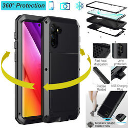 Heavy Duty Shockproof Aluminum Metal Case Cover For Samsung Note 10 9 S10 S9 $16.89