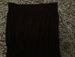 newlook size 8 strapless black maxi dress. Summer holiday GBP 6.99