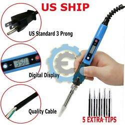 60W IRON SOLDERING GUN Electric Welding Solder + Wire 110V - 120V Home Shop Gun  $9.95