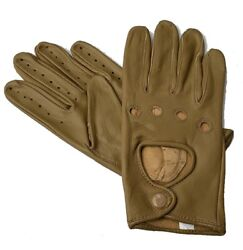 `Women Lady#x27;s Lambskin Soft Genuine Leather Driving Gloves $12.99
