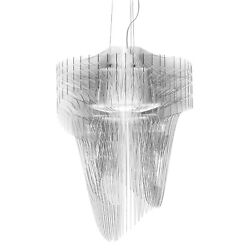 Pendant lamp Slamp Aria Transparent L