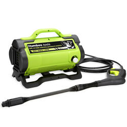 HUMBEE Portable Electric Pressure Washer 1900 PSI 1.6 GPM high power washer $89.99