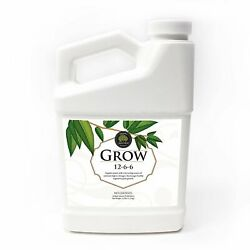Grow Natural Based Plants Liquid Fertilizer for Home Gardening 32oz $25.99