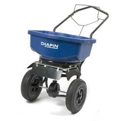 80Lb Blue Tray Residential 12quot; Pneumatic Tire All Season Broadcast Cart Spreader $244.00