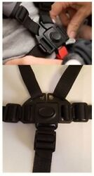 EVENFLO Charleston Baby Stroller 5 Point Buckle Harness Clip Strap Replacement $24.99