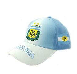 Argentina 3d Embroidered High Quality Adjustable Country Baseball Cap $11.00