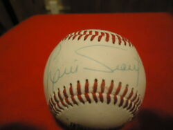 Luis Tiant Spalding Leather Autographed Baseball See Pictures $19.99