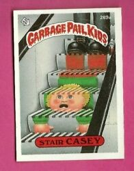 GARBAGE PAIL KIDS STAIR CASEY #289a (ONE STAR BACK VARIATION) TOPPS 1987--RARE  $12.95