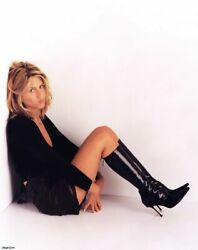 Jennifer Aniston On The Floor With Her Black Boots 8x10 Picture Celebrity Print $3.99