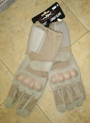 USMC Wiley X TAG 1 Tactical Coyote Gloves New Large $36.99