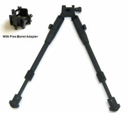 8quot; to 10quot; Adjustable clamp on Foldable Adapter Rifle Bipod Quick release stand $18.99