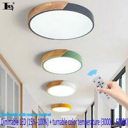 38W 19inch Dimmable LED Ceiling Light Modern LED Round Flush Mount Ceiling Lamp $88.30