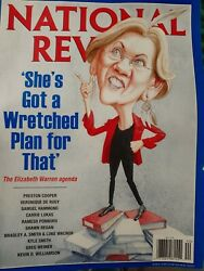 National review  she's got a wretched plan for that Elizabeth Warren Agenda