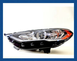 2017-2020 Ford Fusion Halogen w LED SIGNATURE STRIP Headlight DRIVER SIDE