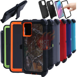 For Samsung Galaxy S20S20 PlusS20 Ultra Defender Case(With Clip fits Otterbox) $9.88
