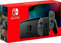 Nintendo Switch Console Blue Red Newest Model V2 Free Expedited Shipping NEW $379.98