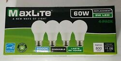 16 pack LED Light Bulbs New 60 Watt Equivalent A19 Dimmable Soft White 2700k Lot $16.50