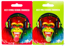 Couple Package Monkey Green Pink Pill Best Sexual Enhancer for Him and for Her $18.99