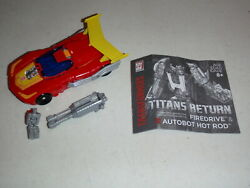 Hot Rod Firedrive Complete Deluxe Generations - Titans Return Transformers $18.46