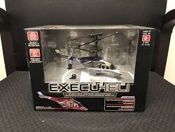 PROPEL RC EXECUHELI WIRELESS INDOOR HELICOPTER Blue NEW IN SEALED BOX NIB $17.00