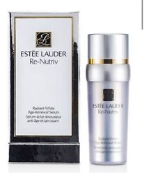 Estee Lauder Re Nutriv Radiant White Age Renewal Serum 1oz30ml New In Box $37.75