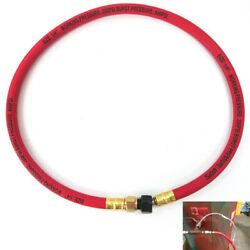 1 Whip Hose Oil Resistant Rubber Air Hose Pigtail Whip 2.5 Foot 14 Inch 200 PSI $9.41