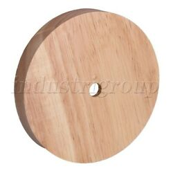 12x5x2cm Round Wooden Lamp Base Replacement for DIY Table Lamp $15.63