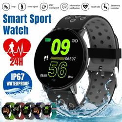 Bluetooth Women Men Smart Watch Sport Fitness Tracker Monitor For iPhone Android $15.99